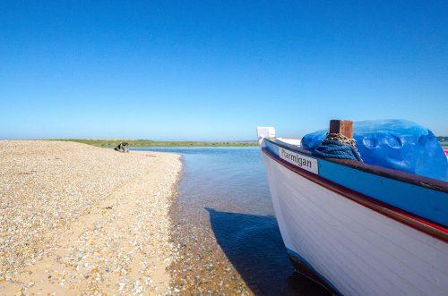 The Ptarmigan Seal Trip boat, Blakeney, Norfolk